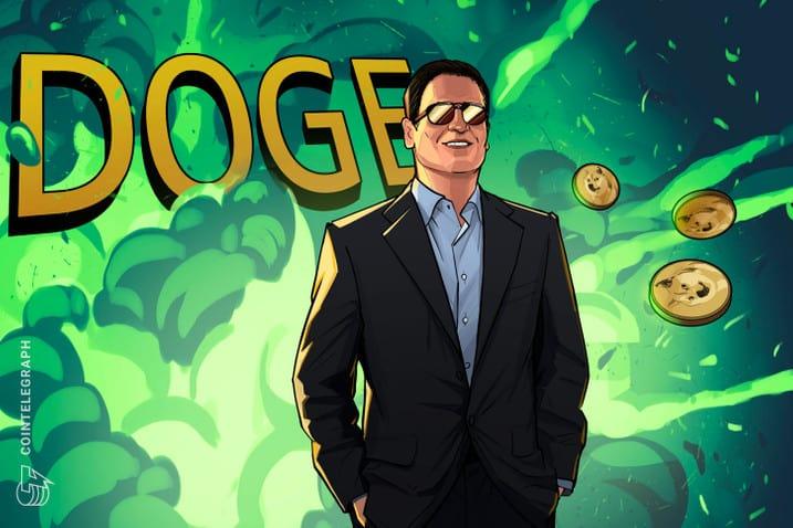 Mark Cuban nhìn thấy giá Dogecoin đạt 1 đô la